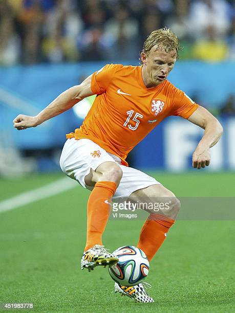 Dirk Kuyt of Holland during the match between The Netherlands and Argentina on July 9 2014 at Arena de Sao Paulo in Sao Paulo Brazil