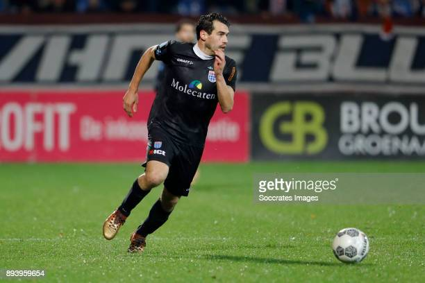 Dirk Marcellis of PEC Zwolle during the Dutch Eredivisie match between Willem II v PEC Zwolle at the Koning Willem II Stadium on December 16 2017 in...