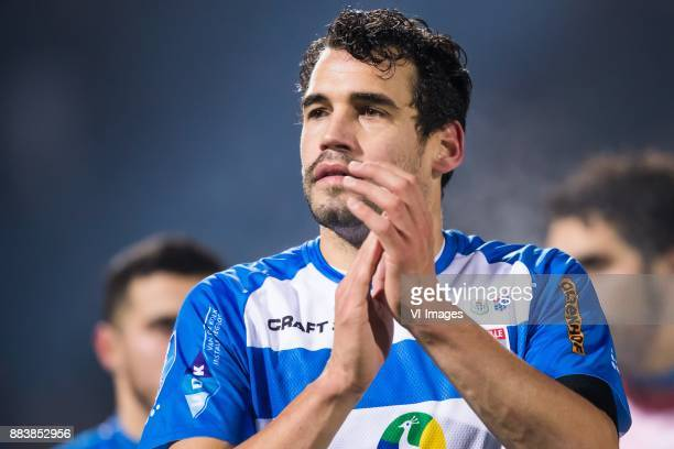 Dirk Marcellis of PEC Zwolle during the Dutch Eredivisie match between PEC Zwolle and FC Utrecht at the MAC3Park stadium on December 01 2017 in...
