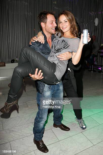 Dirk Moritz and Renee Weibel attend the TELE 5 Directors Cut at Sofitel on October 5 2012 in Hamburg Germany