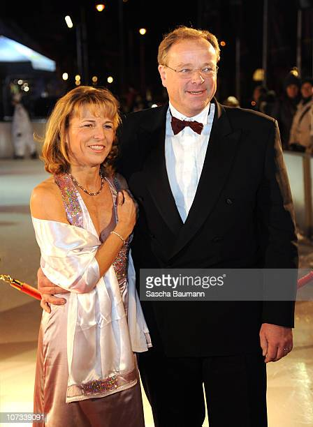 Dirk Niebel and his wife Andrea attend the 'Radio Regenbogen Charity Night' on December 4 2010 in Mannheim Germany
