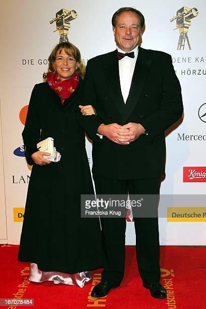 Dirk Niebel Mit Ehefrau Andrea Bei Der 45 Verleihung Der Goldenen Kamera In Der Ullstein Halle In Berlin