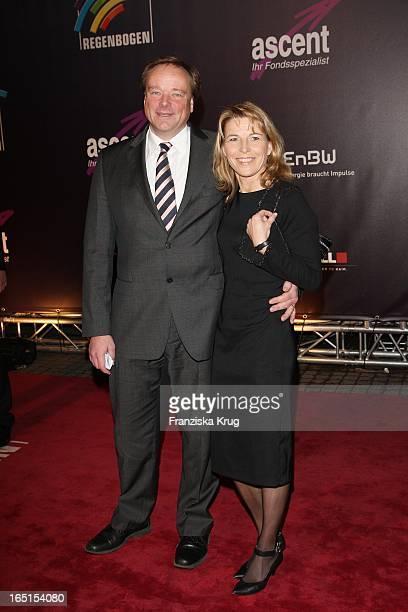 Dirk Niebel Und Ehefrau Andrea Bei Der Verleihung Des Medienpreis Radio Regenbogen Award Der Medienpreis Aus Baden Württemberg In Der...