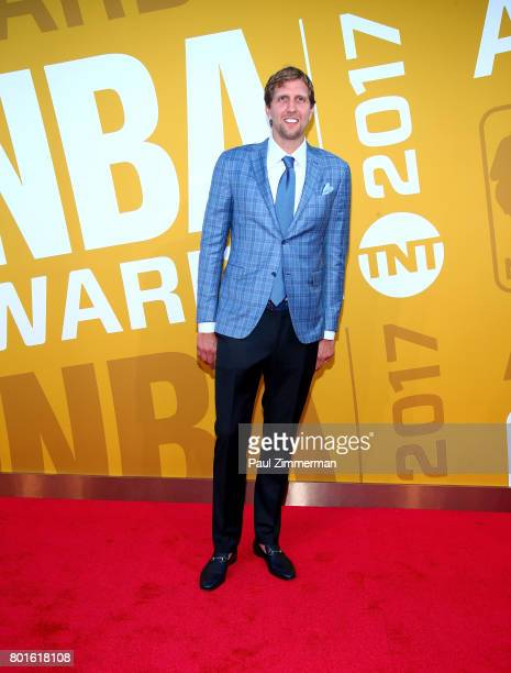 Dirk Nowitzki attends the 2017 NBA Awards at Basketball City Pier 36 South Street on June 26 2017 in New York City