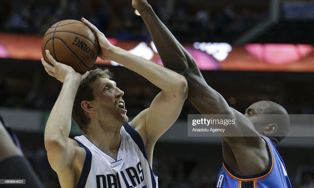 Oklahoma City Thunder v Dallas Mavericks : News Photo