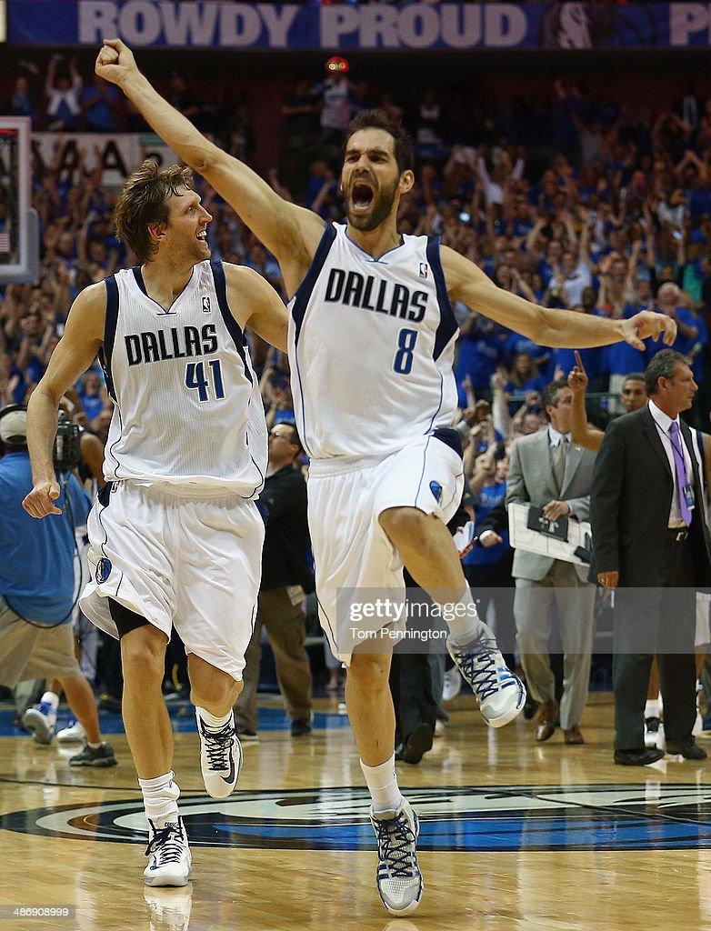 San Antonio Spurs v Dallas Mavericks - Game Three