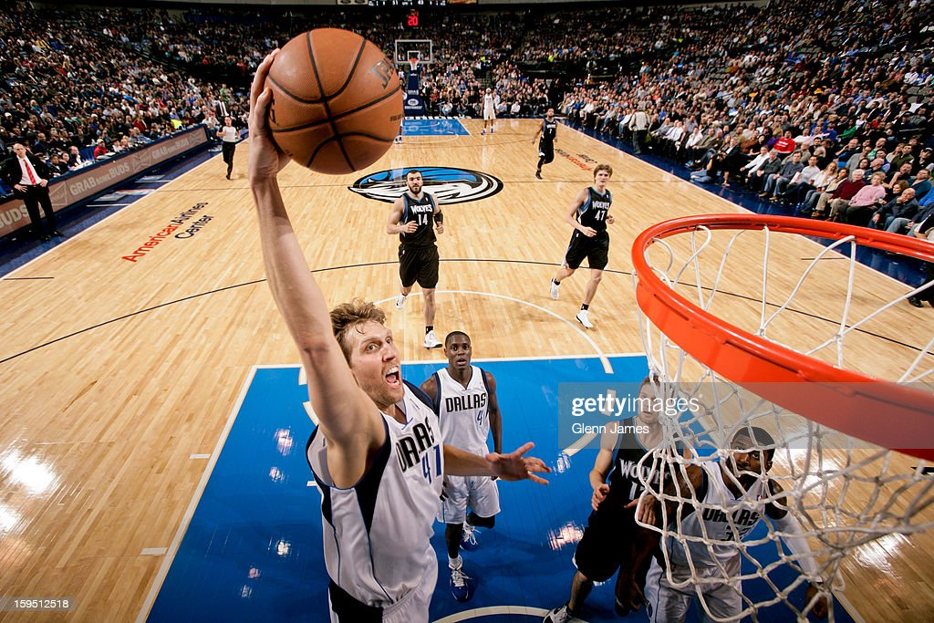Minnesota Timberwolves v Dallas Mavericks