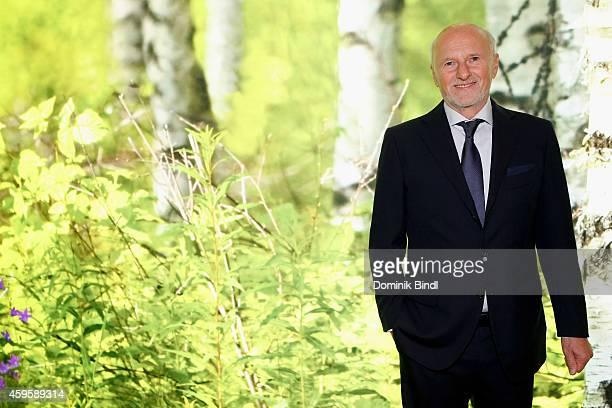 Dirk Rossmann attends the Querdenker Award 2014 at BMW World on November 25 2014 in Munich Germany
