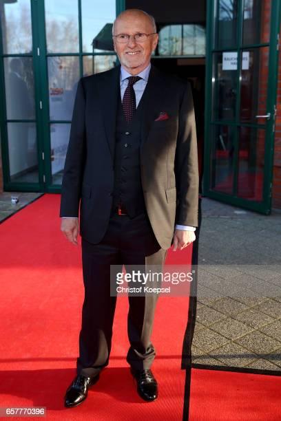 Dirk Rossmann entrepreneur poses during the Steiger Award at Coal Mine Hansemann Alte Kaue on March 25 2017 in Dortmund Germany