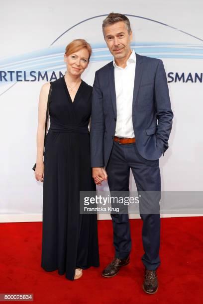 Dirk Steffens and Ingrid Steffens attend the 'Bertelsmann Summer Party' at Bertelsmann Repraesentanz on June 22 2017 in Berlin Germany