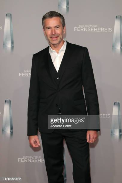 Dirk Steffens attends the German Television Award at Rheinterrasse on January 31, 2019 in Duesseldorf, Germany.