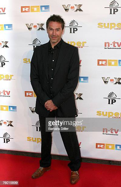 Dirk Steffens attends the Prime Time Nightclub Party at 3001 club on August 7 2007 in Dsseldorf Germany
