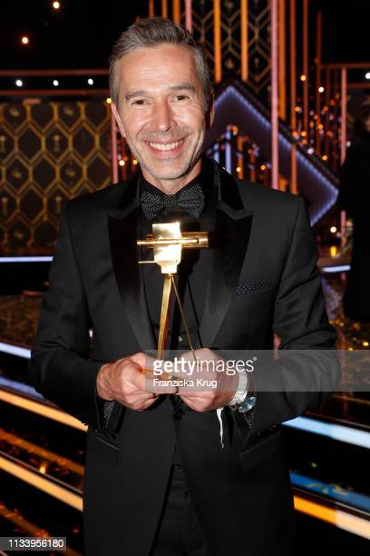 Dirk Steffens during the Goldene Kamera after show party at Tempelhof Airport on March 30 2019 in Berlin Germany