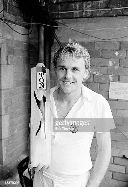 Dirk Wellham who made a century on his debut for Australia in the 6th Test match against England at the Kennington Oval in London 1st September 1981...