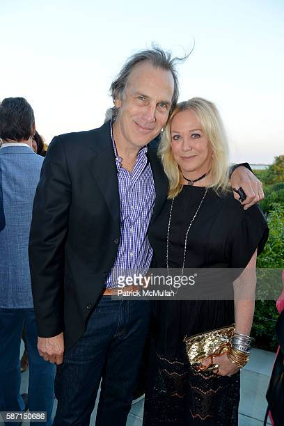 Dirk Wittenborn and Nina Griscom attend Tom Diane Tuft and Christina Cuomo Celebrate the Launch of Jay McInerney's New Novel Bright Precious Days at...