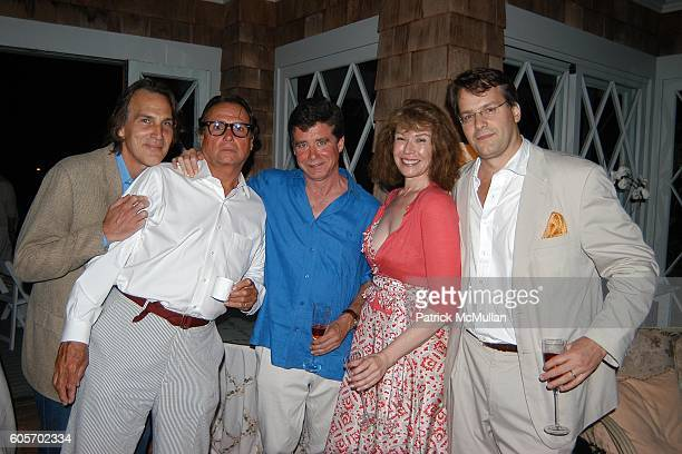 Dirk Wittenborn, James Signorelli, Jay McInerney, Sara Colleton and Billy Kimball attend FRANCES HAYWARD Dinner Party For ANNE HEARST and JAY...