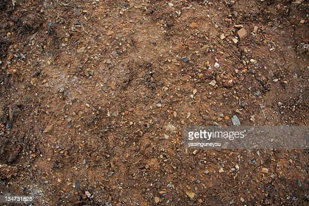 dirt background series - gravel stock pictures, royalty-free photos & images