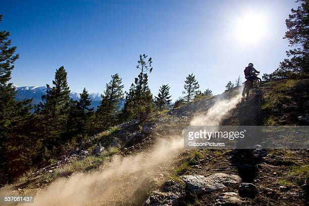 dirt bike rider - scrambling stock pictures, royalty-free photos & images