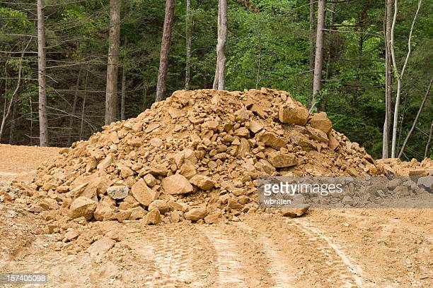 dirt pile - rubble stock pictures, royalty-free photos & images