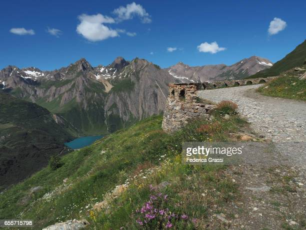 Dirt Road And Stone Arches In The Lepontine Alps