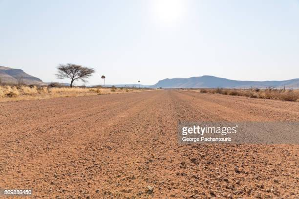 Dirt road in Namibia