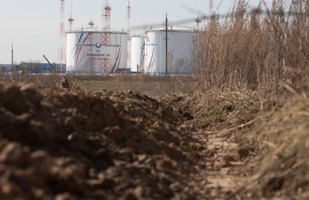 RUS: Oil Storage Tanks As OPEC+ Meet For Output Showdown