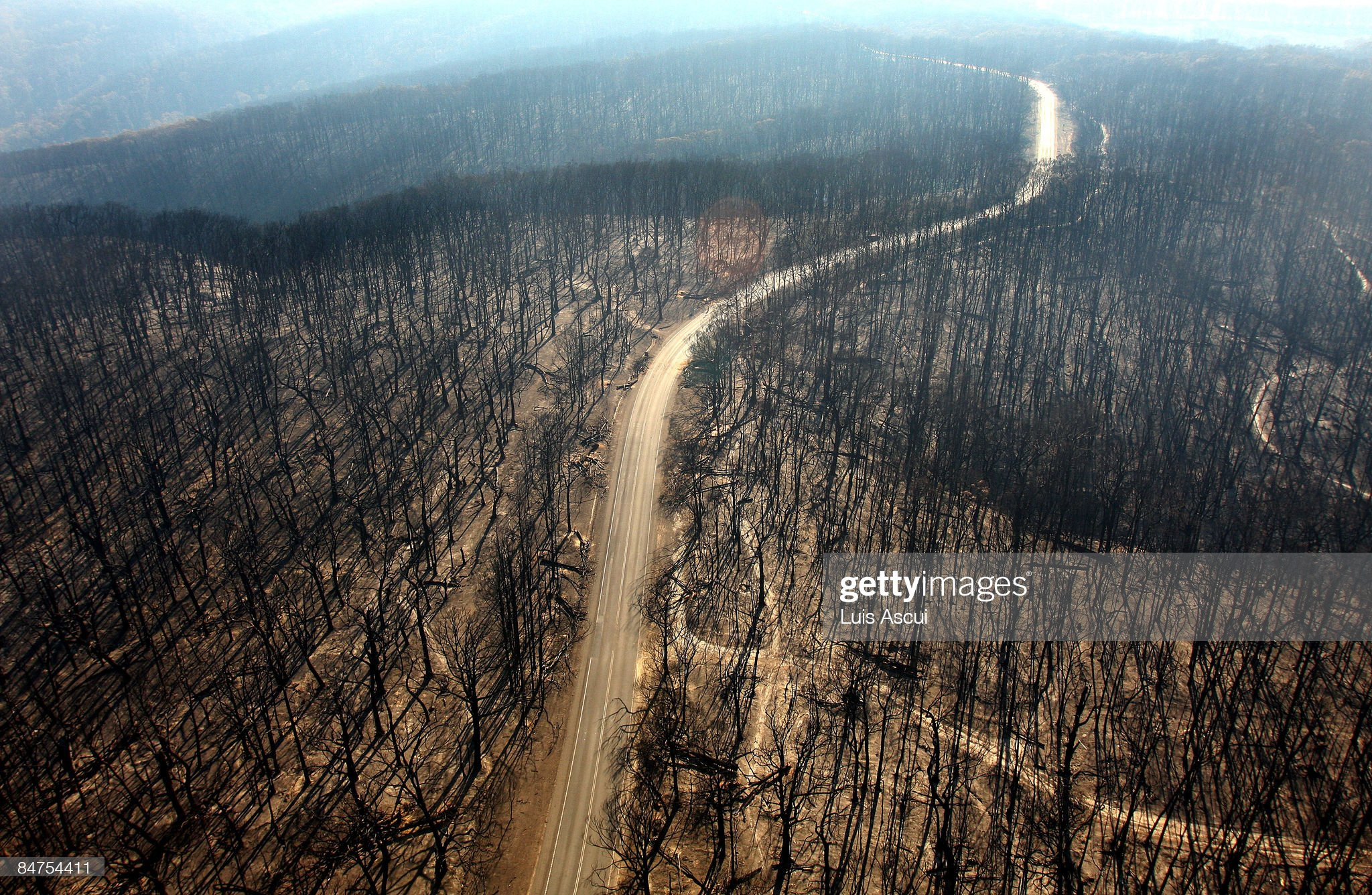 Death Toll Nears 200 As Bushfires Continue To Blaze Through Victoria : News Photo