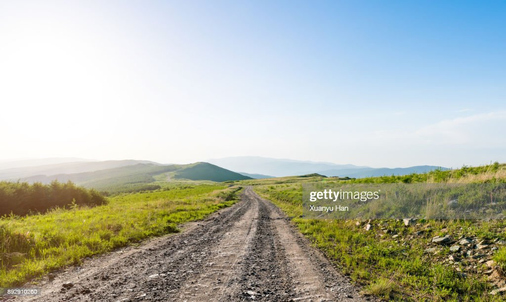 Dirt track through raggeds wilderness area : Stock Photo