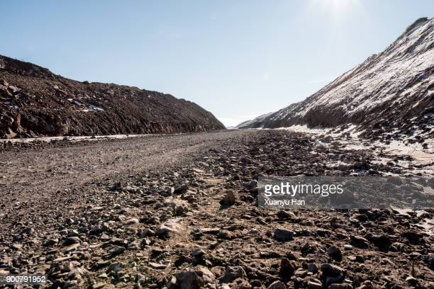 Dirt track through raggeds wilderness area