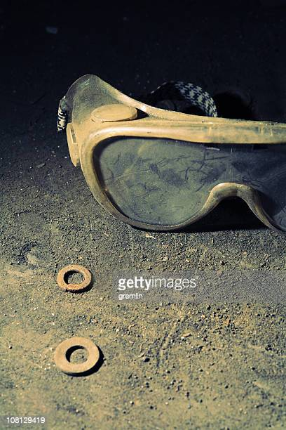 Dirty and Dusty Safety Goggles