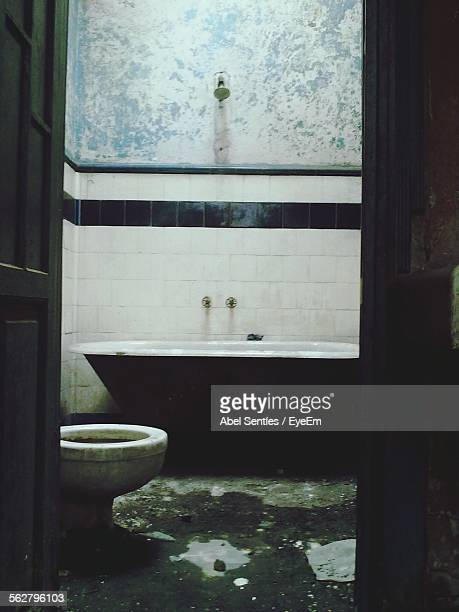 dirty bathroom - run down stock pictures, royalty-free photos & images