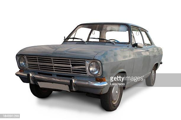 dirty classic car - bad condition stock photos and pictures