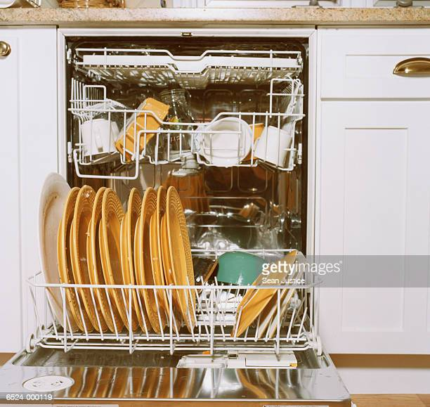 Dirty Dishes in Dishwasher