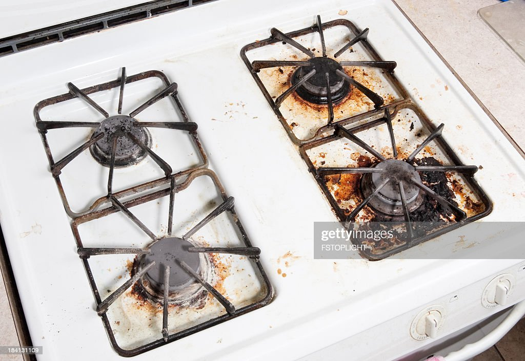 Dirty Kitchen Stock Photo | Getty Images