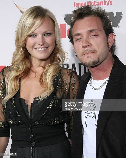 Dirty Love'premiere in Hollywood, United States on September 19, 2005 - Malin Akerman and Roberto Zincone at the 'Dirty Love' premiere at the...