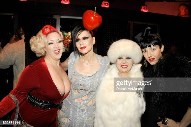 Dirty Martini Susanne Bartsch Rosemary Ponzo and Michelle Harper at DAVID BARTON'S TOY DRIVE for Kids at Hospitals and Shelters In New York at David...