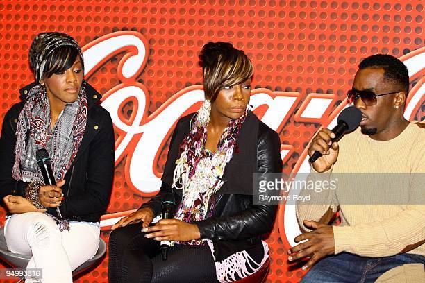 Dirty Money is interviewed at the CocaCola Lounge in Chicago Illinois on December 11 2009