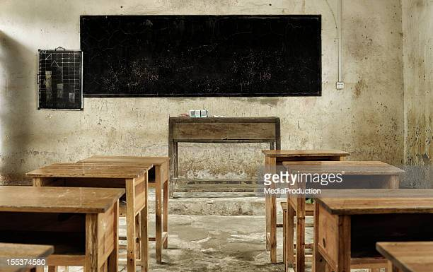 dirty old classroom