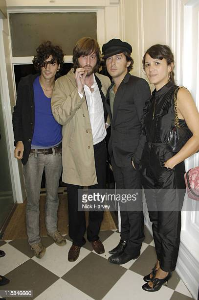Dirty Pretty Things and Lisa Moorish during London Fashion Week Spring/Summer 2007 PPQ Flagship Store Opening in Mayfair at Mayfair in London Great...