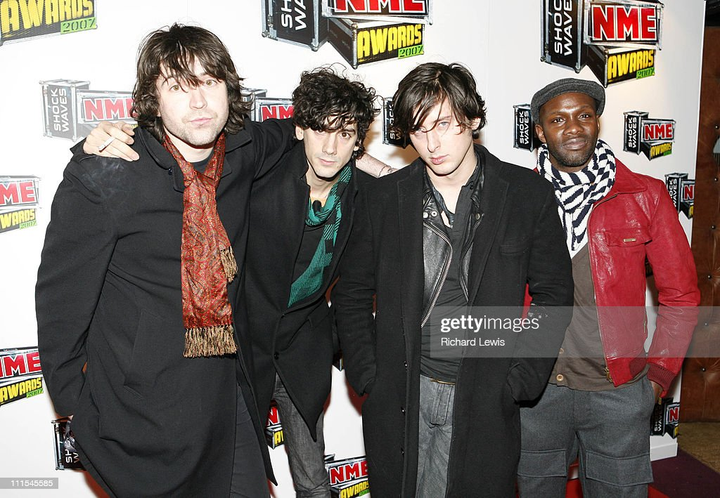 Dirty Pretty Things arrive at the Shockwaves NME Awards 2007