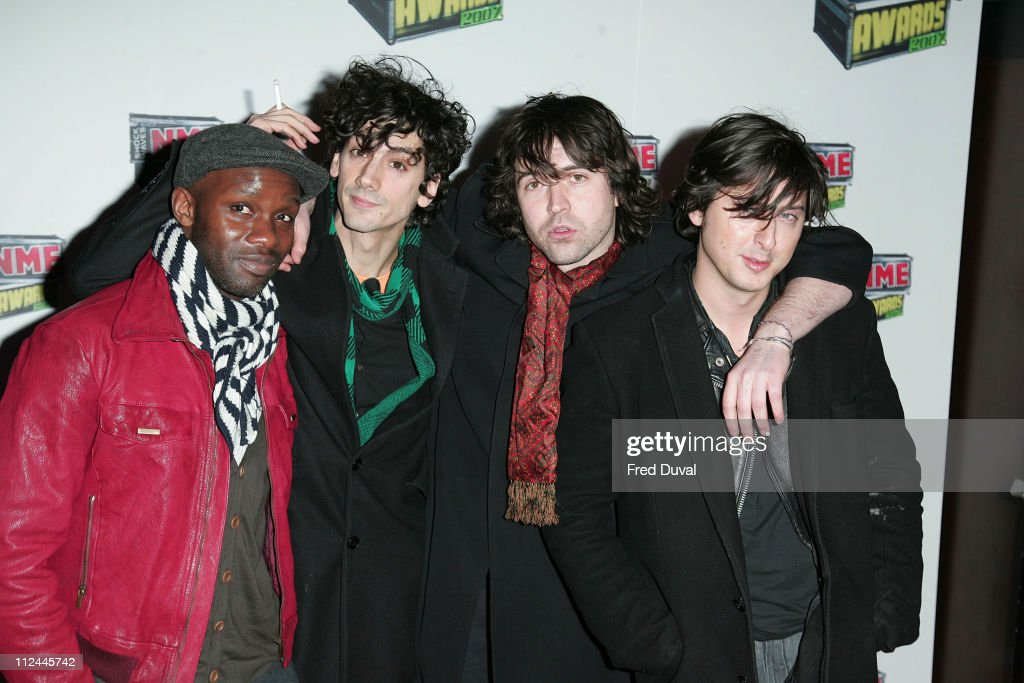 Dirty Pretty Things during Shockwaves NME Awards 2007 - Red Carpet Arrivals at Hammersmith Palais in London, Great Britain.