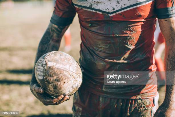 Dirty Rugby player