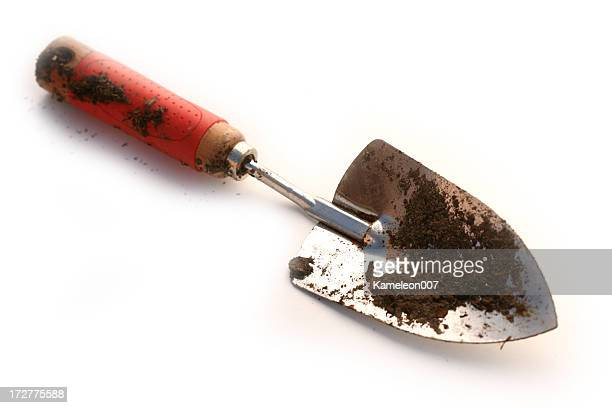 dirty scooper - gardening equipment stock pictures, royalty-free photos & images