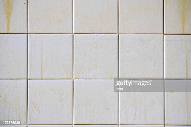 dirty white tiles - dirty stock pictures, royalty-free photos & images
