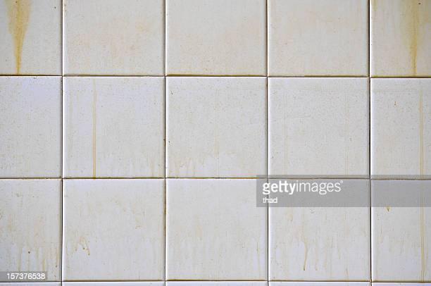 Dirty White Tiles