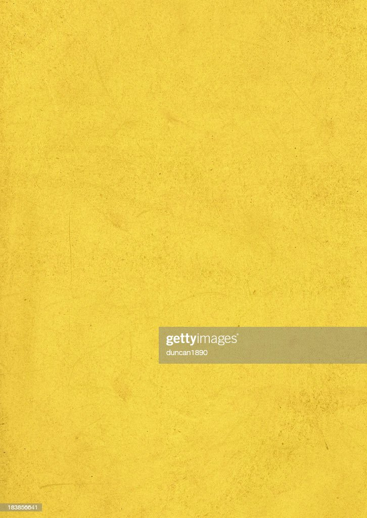 Dirty Yellow Paper Texture : Stock Photo