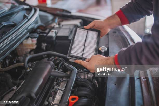 dirty,air,cleaner,element,for,car,engine - spare part stock pictures, royalty-free photos & images