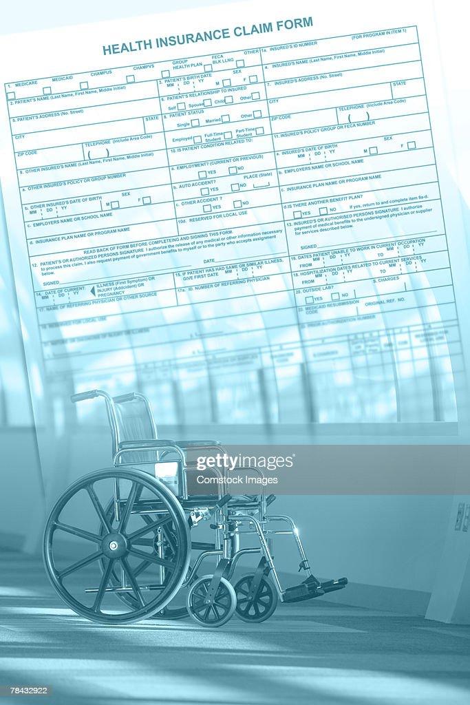 Disability insurance : Stockfoto