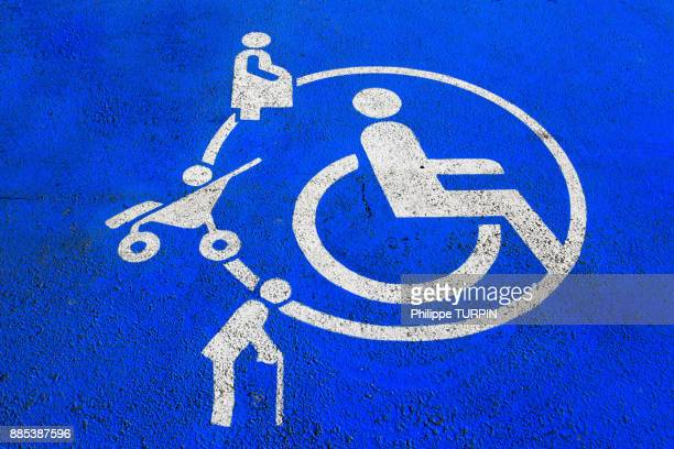 Disabled and priority people