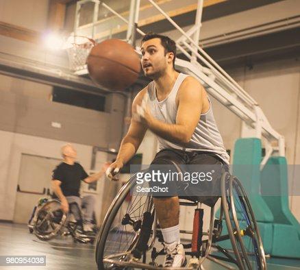 Basketteur handicapés